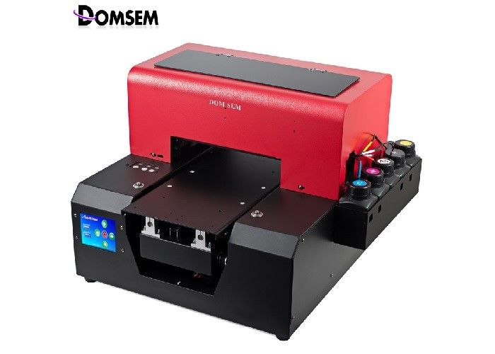 A4 UV Ink Mobile Back Case Printing Machine With Embossed Effect